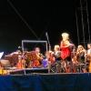 Dresdner Philharmonie am Elbufer 6.07.12  Dirigent Michael Sanderling  Moderation Birgit Schaller