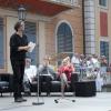 Elbhangfest 2012 im Schloß Pillnitz Lesung SZ Kolumnisten mit Jens-Uwe Sommerschuh
